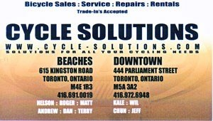 Cycle Solutions Bicycles Dealers Sales Service In Toronto Ontario