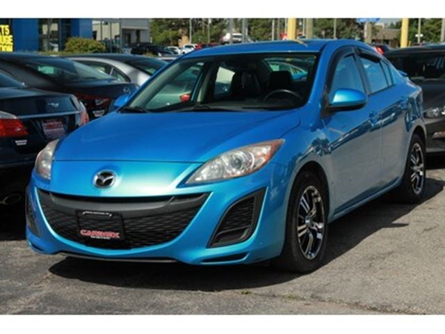 2011 Mazda MAZDA3 GS Sunroof Leather Heated Seats Blue for 8570 in ...