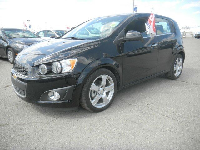 2012 Chevrolet Sonic Lt 4dr Hatchback Black For 17852 In Calgary