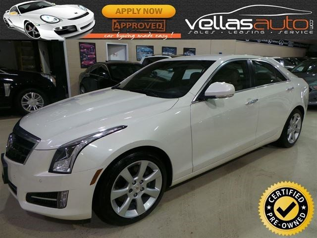 2013 Cadillac Ats 2 0l Turbo 2 0t Navi 6speed Pearl White White