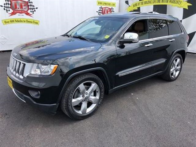 Charming 2013 Jeep Grand Cherokee Overland, Leather, Panoramic