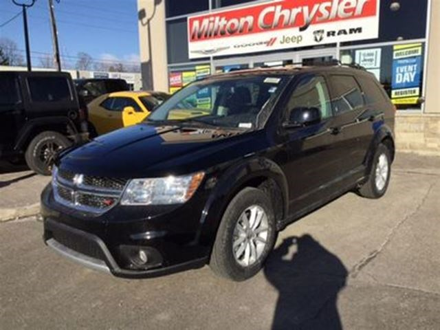 2017 Dodge Journey Sxt Awd 7 Passenger Black For 24888 In Milton