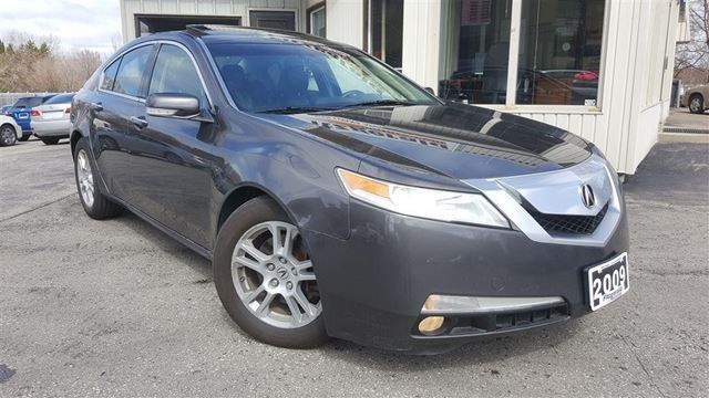 2009 Acura TL Technology Package - NAV! BACK-UP CAM! Grey for 11999 ...
