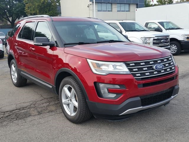2017 Ford Explorer Xlt Red For 33995 In Hamilton Simcoe Com