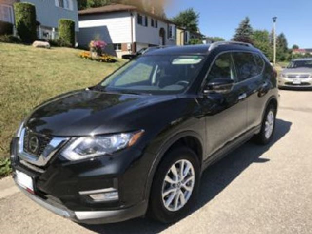 2017 Nissan Rogue Sv Awd W Extended Warranty Winter Tires Black For 454 In Mississauga Cambridgetimes Ca