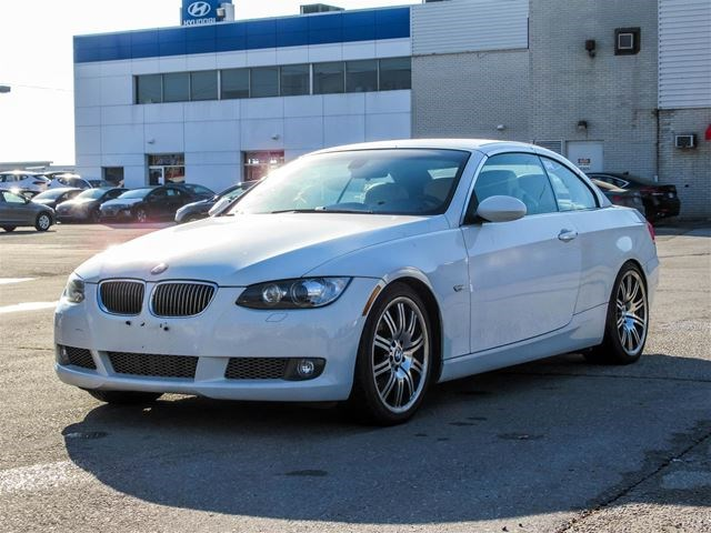 2008 BMW 3 Series CONVERTIBLE White For 16280 In Woodbridge