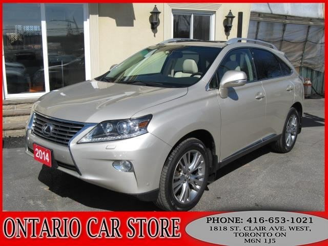 2014 Lexus RX 350 AWD NAVIGATION LEATHER SUNROOF