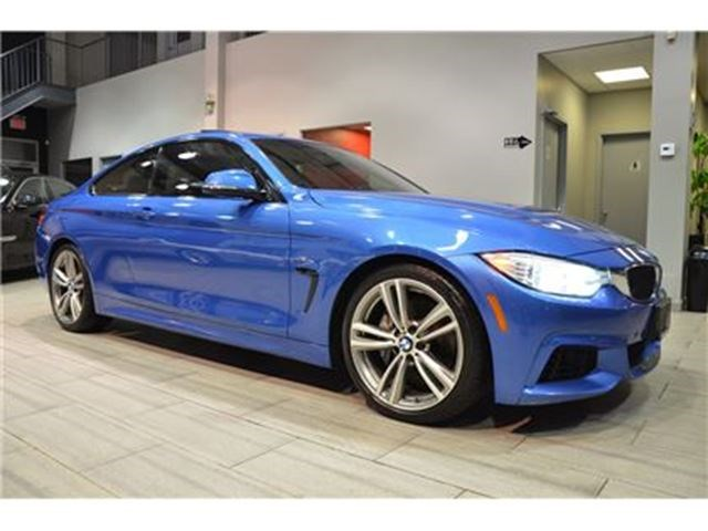 BMW I MSport Package Speed Manual Blue For In - 2014 bmw 435i m sport
