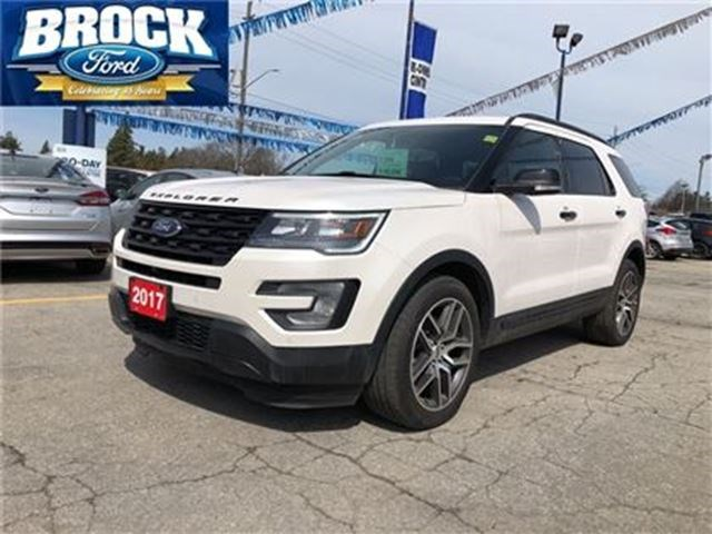 2017 Ford Explorer Sport 4x4 Roof Navigation White For 46990 In