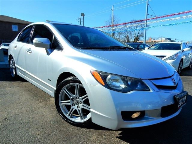 2010 Acura CSX I-TECH NAVI LEATHER.ROOF REMOTE Silver for 9988 in ...