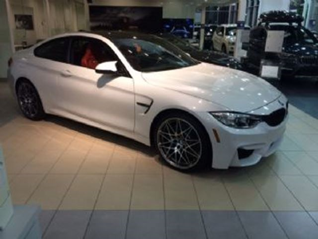 2017 bmw m4 coupe, competition + premium packs, m double clutch