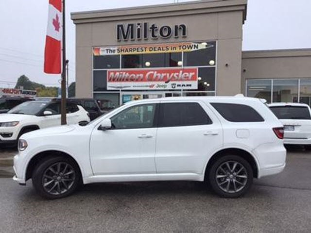 2017 Dodge Durango Gt Awd Leather Navigation