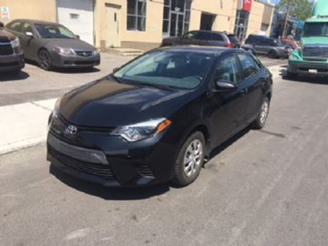 2016 Toyota Corolla Ce 1000 Cash Incentive Black For 340 In Mississauga Niagarathisweek