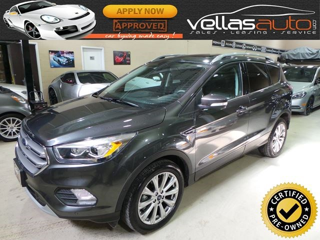 2017 Ford Escape Anium 4wd Navi Panoramic Rf Grey For 28888 In Vaughan Therecord