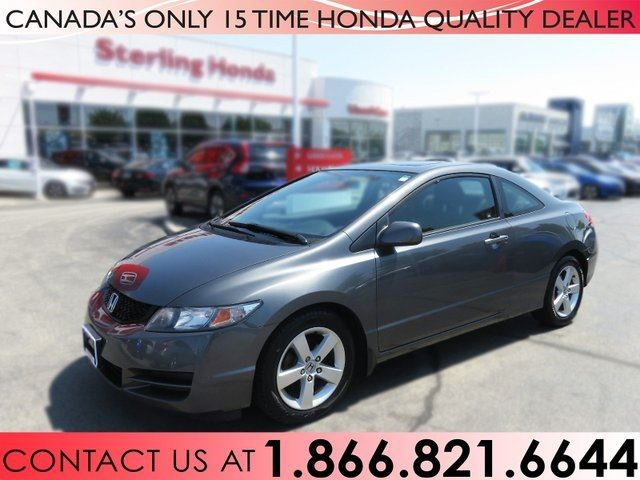 2010 Honda Civic Coupe LX   COUPE   1 OWNER