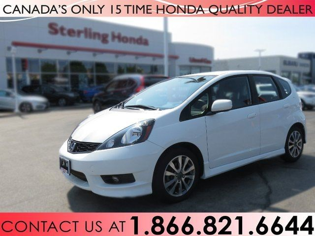 2014 Honda Fit SPORT | HONDA CERTIFIED | 1 OWNER | NO ACCIDENTS White For  13888 In Hamilton | HamiltonNews.com