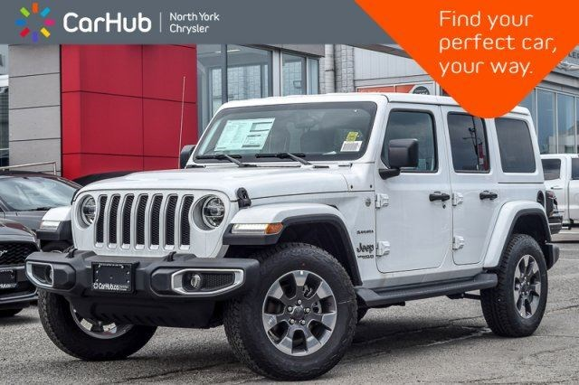 2018 Jeep Wrangler Unlimited New Car Sahara Tech.,LED,Safety,Cold  Wthr.,DualTop Pkgs White For 54598 In Thornhill | YorkRegion.com