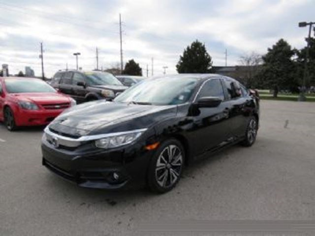 2016 Honda Civic Sedan Ex T Black For 368 In Mississauga Bramptonguardian