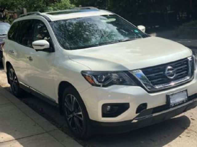 2017 Nissan Pathfinder 4wd 4dr Sl White For 654 In Mississauga