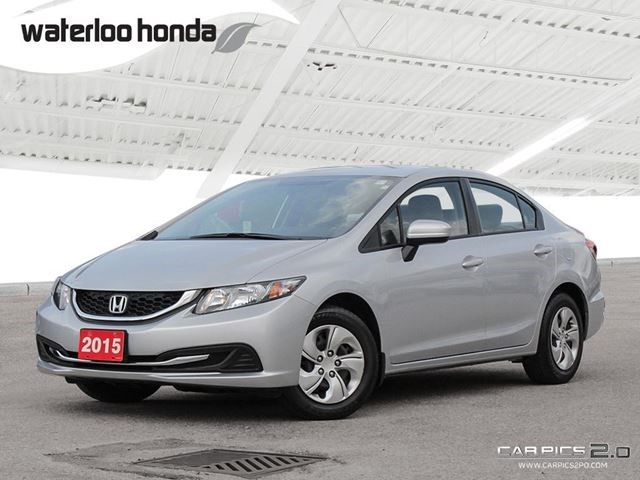 2015 Honda Civic Lx Bluetooth Back Up Camera Heated Seats And More