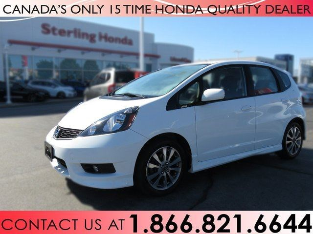 2014 Honda Fit SPORT | 1 OWNER | NO ACCIDENTS