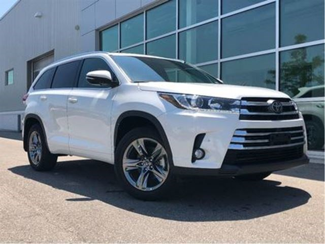 2017 Toyota Highlander Limited Clearout White For 49950 In Mississauga