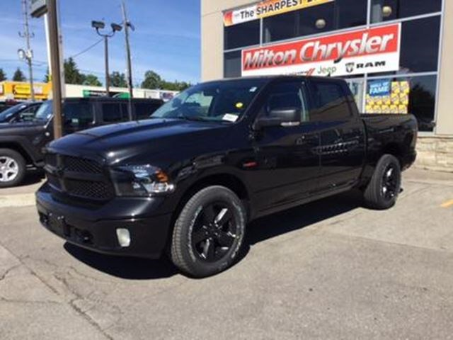 2018 Ram 1500 Big Horn Crew Diesel Blackout Leather For 45999 In