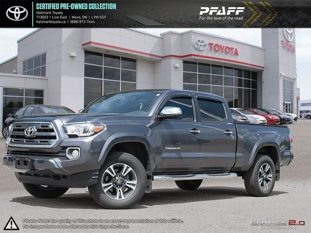 2017 Toyota Tacoma 4x4 Double Cab V6 Limited 6a Grey For 41588 In