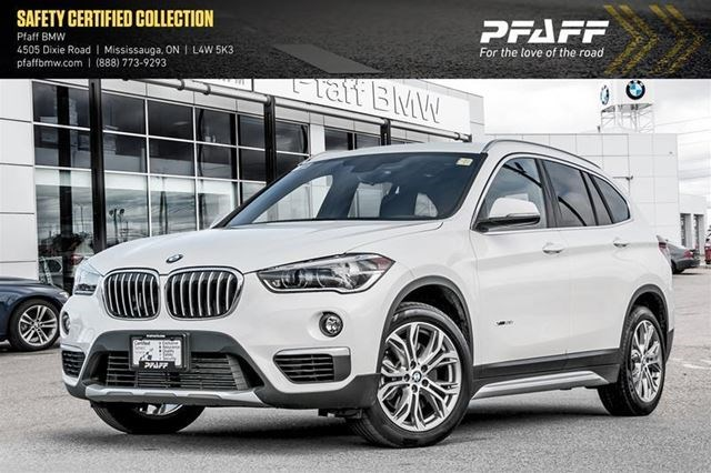 2017 BMW X1 XDrive28i White For 37988 In Mississauga