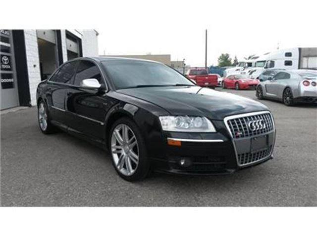 Audi S VALCONA LEATHER S V Black For In Guelph - 2007 audi s8