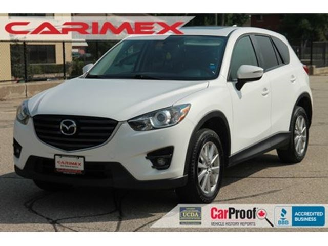 2016 Mazda CX-5 GS NAVI Leather Sunroof CERTIFIED White for 21995 in ...