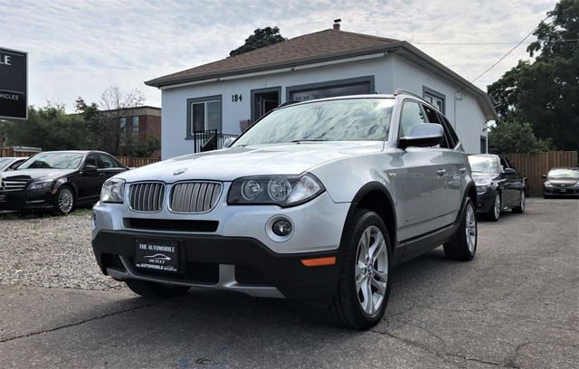 2010 Bmw X3 Awd 30i Pano Roof Leather No Cars