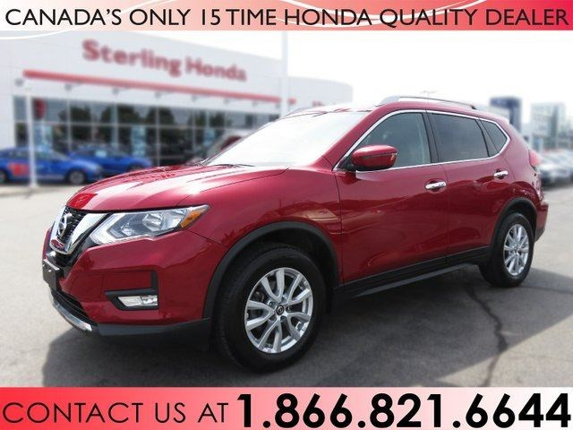2017 Nissan Rogue Sv 1 Owner Low Km S Red For 25488 In Hamilton Thespec
