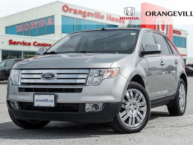 Ford Edge Limited Pano Roof Bluetooth Cruise Control Leather Grey For  In Orangeville Orangeville Com