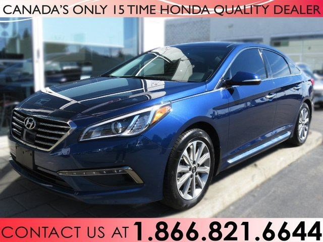 2017 Hyundai Sonata Remote Starter Tint Panoramic Sunroof 1 Owner Blue For 25755 In Hamilton Niagarathisweek