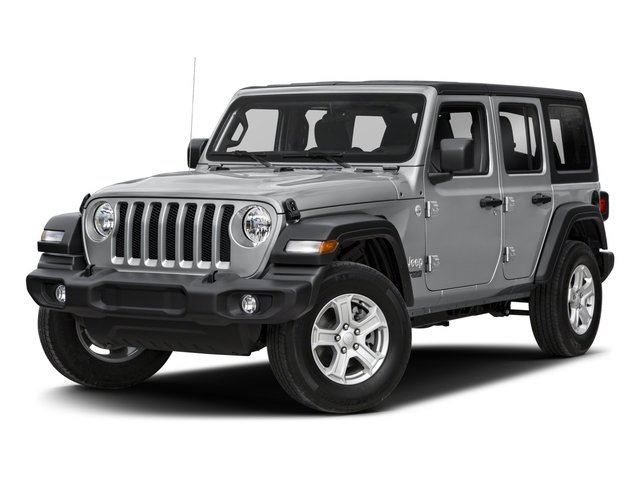 2018 Jeep Wrangler Unlimited White