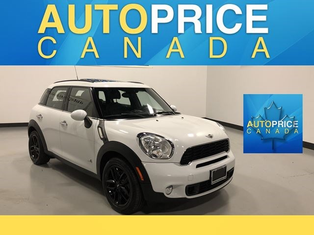 2014 Mini Cooper Countryman Cooper S Panoroofleather White For