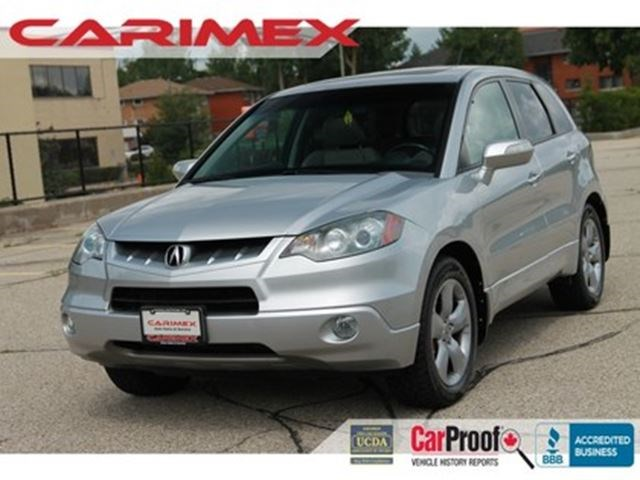 2008 Acura RDX SH-AWD Sunroof Leather CERTIFIED Silver for 9570 in ...