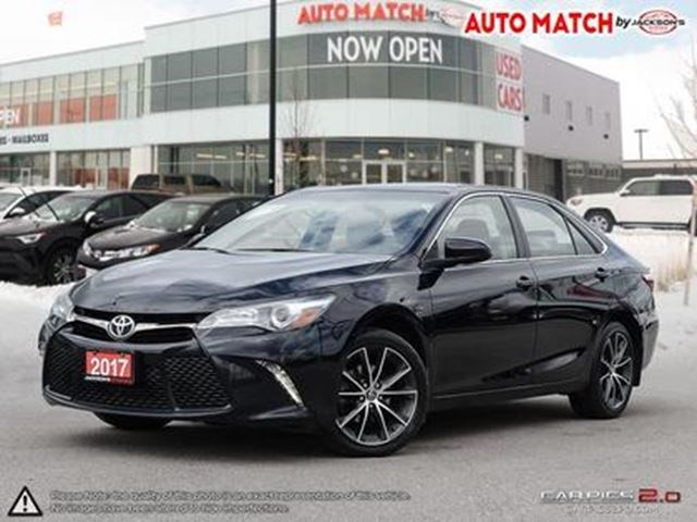 2017 Toyota Camry Sporty Xse 18 Rims Paddles Btooth More Black For 23998 In Barrie Niagarathisweek