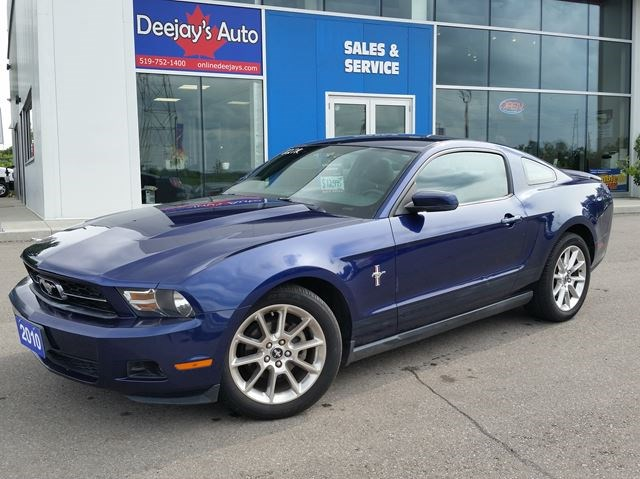2010 Ford Mustang V6 Rwd Dark Blue For 12995 In Brantford Guelphmercury