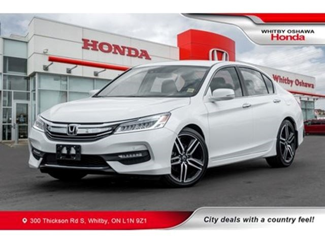 2017 Honda Accord Touring White For 28900 In Whitby
