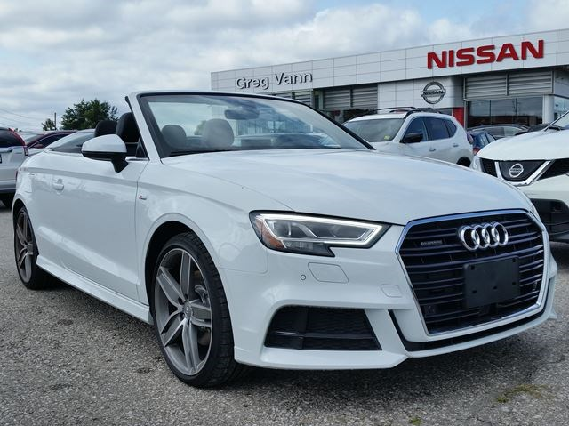 2018 Audi A3 S Line Tfsi Quattro Awd Turbo Wall Leathernavclimate