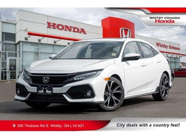 2017 Honda Civic Sport Touring White For 25500 In Whitby