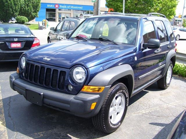 2006 jeep liberty sport auto 4x4 alloys key less blue for 4995 in