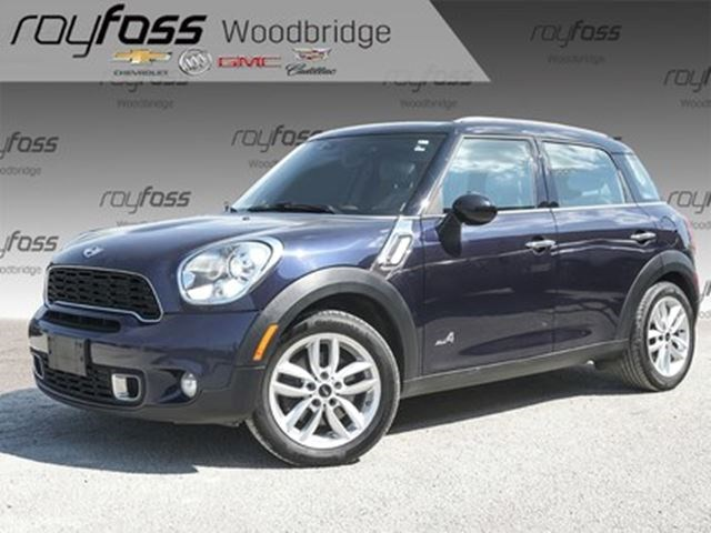 2014 mini cooper countryman cooper s blue for 14995 in woodbridge