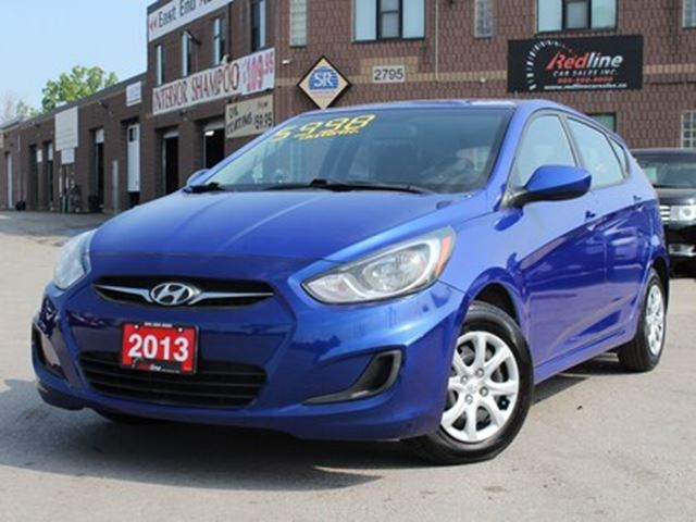 2013 Hyundai Accent Hatchback L AccidentFree Blue For 6998 In Hamilton |  TheSpec.com