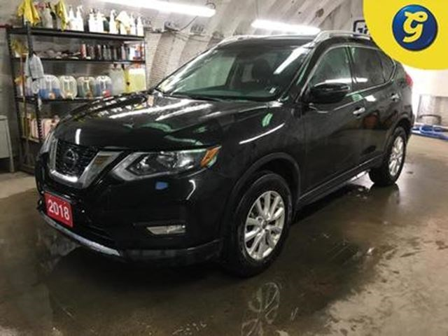 2018 Nissan Rogue SV*AWD*REMOTE START*APPLE CAR PLAY/ANDROID/PH Black For  28995 In Cambridge | GuelphMercury.com