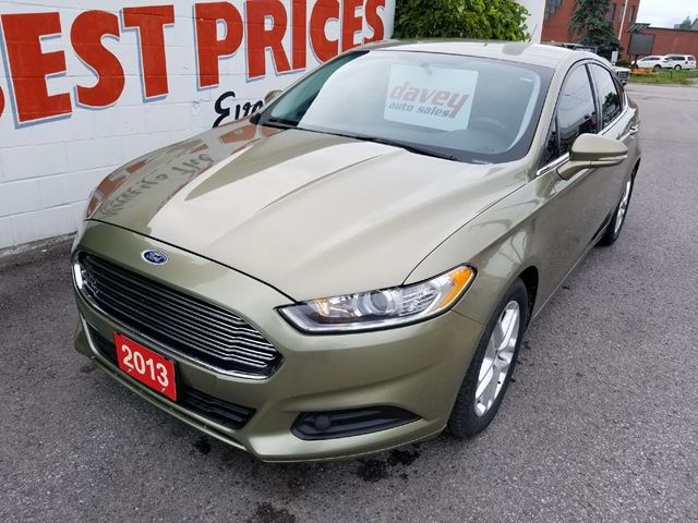 2017 Ford Fusion Se Heated Seats Bluetooth Yellow For 11490 In Oshawa Northumberlandnews