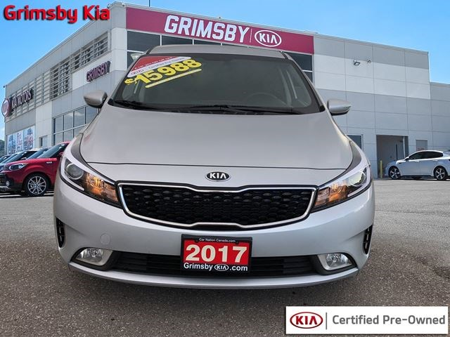2017 Kia Forte Lx Plus Silver For 15988 In Grimsby Kitchenerpost Ca
