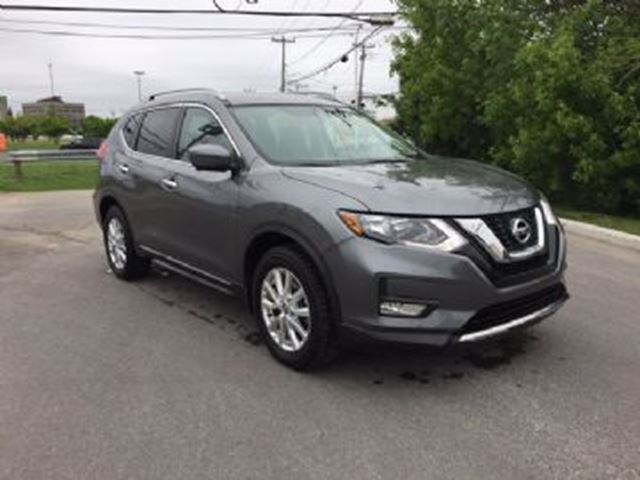 2017 Nissan Rogue Sv Awd Toit Ouvrant Dark Grey For 508 In
